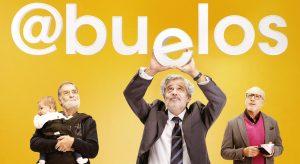"""""""Abuelos"""": Carlos Iglesias, Ramón Barea y Roberto Álvarez. Festival de Málaga"""