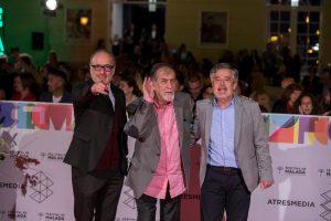 Entusiasmo del público en el estreno de Abuelos en el Festival de Málaga
