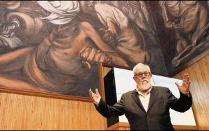 Conferencia de Gonzalo Suárez en la cátedra Julio Cortázar de la Universidad de Guadalajara