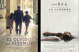El olvido que seremos y La llorona lideran las nominaciones de la VIII Edición de los Premios PLATINO